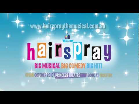 Hairspray The Musical opens in Melbourne October 2010