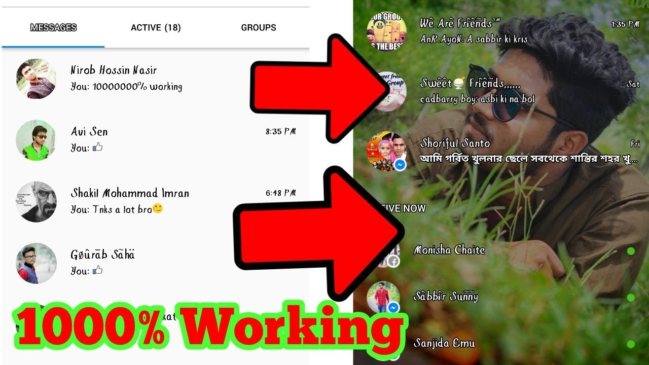 Messenger Background Change How To Change The Background Of Messenger Tech Teacher Youtube