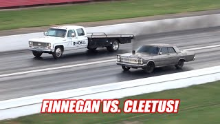 Our DIESEL Galaxies FIRST RACE! Used the Nitrous... Its AMAZING!