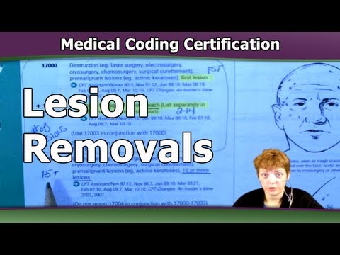 Medical Coding Training — How To Code Lesion Removals
