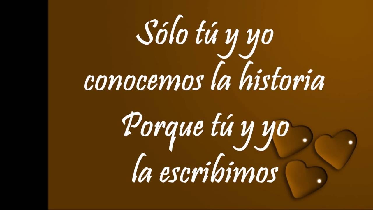 Carlos Rivera Que Lo Nuestro Se Quede Nuestro Letra Youtube