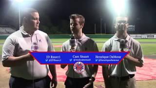Gatemen Baseball Network Postgame: Wareham Gatemen vs. Chatham Anglers (6/19/18)
