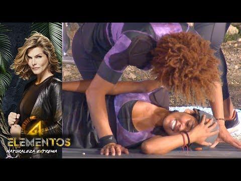 ¡Brenda elimina a Mónica! | Reto 4 Elementos