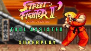 Street Fighter II Turbo: Hyper Fighting - Ken【TAS】