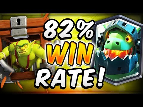 82% WIN RATE! Fastest Graveyard Cycle Deck — Clash Royale