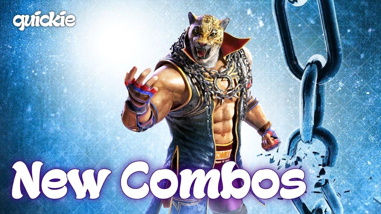 Tekken 7 King Quickies New Combos Youtube