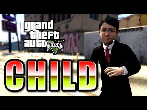 COMO DESCARGAR INSTALAR CHILD MOD MOD NIÑO | GTA 5 [GTA V] PARA PC | ESPAÑOL 2016