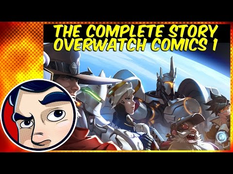 "Overwatch Comics ""Mcree, Reinhardt, Junkrat and Roadhog"" - Complete Story"