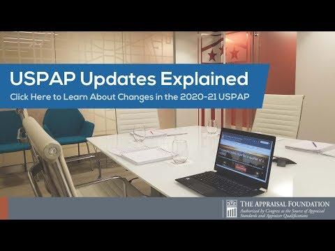 USPAP Updates Explained