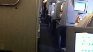 Volando de Tokyo a Dallas