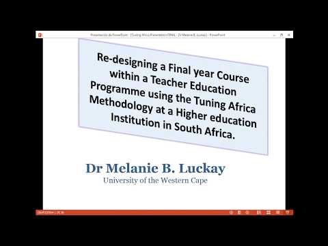 Re-designing a final year course within a Teacher Education Programme