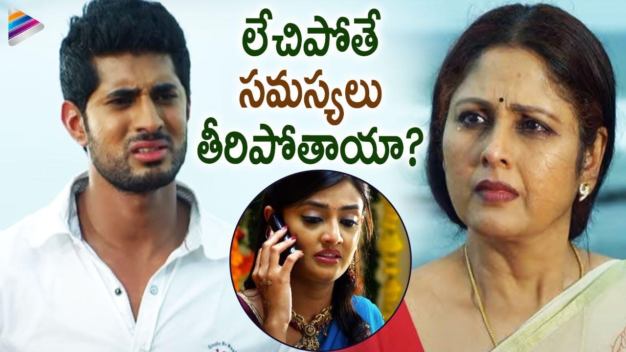 Nikitha Narayan Tries to Elope With Arvind Krishna | Its My love Story  Movie | Telugu FilmNagar
