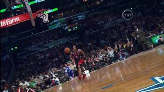 "DeMar DeRozan Reverse Windmill Dunk ""The Show Stopper"" (2-19-2011 NBA Dunk Contest)"