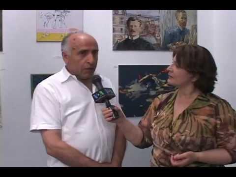 HAMO Artist at Elusive Vision Artists Exhibition in Manhattan (interview in Armenian)