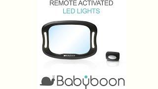 Baby Car Mirror WiFi LED Lights