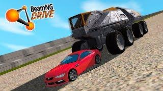 СПУСК СМЕРТИ! ЗДЕСЬ ОБРЫВАЮТСЯ ЖИЗНИ! | BeamNG.drive