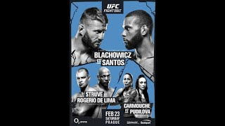 Martian MMA 50 with Sriram (UFC Prague analysis and prediction)