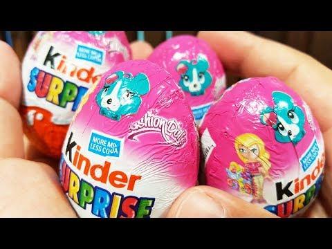 キンダー おもちゃ バービー ウィンクス クラブ ラブ&ペット Kinder Surprise Eggs Barbie Fashion Dolls Winx Club Love & Pet