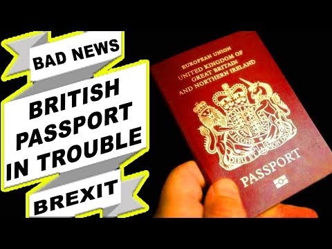 UK PASSPORTS TO BE RENEWED BEFORE 29 MARCH 2019|BREXIT NO DEAL|BREXIT UPDATE|UKVI|UKBA|2019 HD