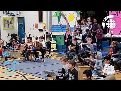 """Big Yellow Taxi"" - Dr. E. W. Coffin School - #CBCMusicClass"