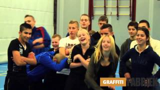 graffiti-fabriek - graffiti en dansworkshop CKV project