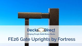 Fortress FE26 Gate Uprights