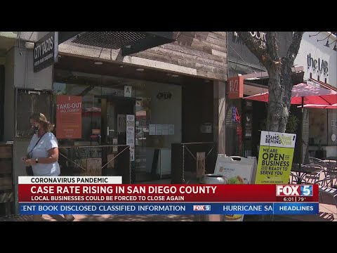 San Diego County Could Backslide As COVID-19 Case Rate Rises