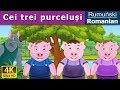 Download Cei trei purceluși - povesti pentru copii - basme in limba romana - Romanian Fairy Tales
