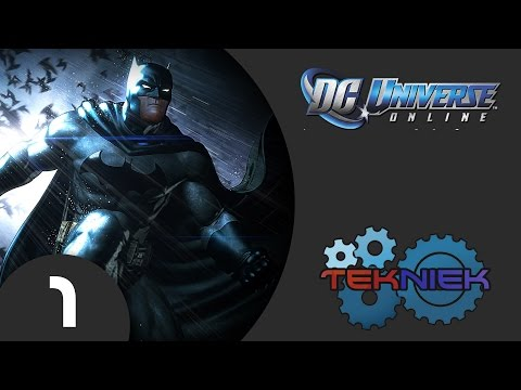 DC Universe Online Gameplay Walkthrough Part 1 – Escape From Brainiac (PS4)