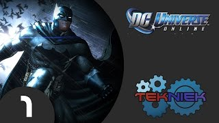 DC Universe Online Gameplay Walkthrough Part 1 - Escape From Brainiac (PS4)
