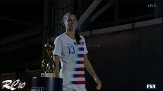 Alex Morgan vs Brazil (Every Touch) | 1080p | Home | 4-1 | August 02, 2018 | Tournament Of Nations