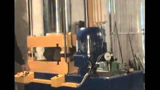 Пресс для горячей штамповки, Hydraulic press, Press for hot stamping(, 2015-05-12T11:55:30.000Z)