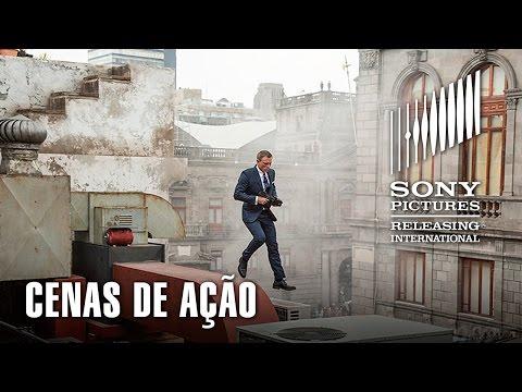 007 Contra SPECTRE   Cenas de Ação