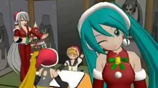 Vocaloid - Xmas Caramell dansen