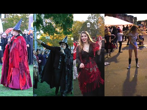 Halloween 2016 Salem -  Includes scenes of the Salem Witches' Magic Circle.