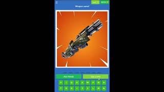 Guess the Picture Quiz for Fortnite Level 11-20 Answers