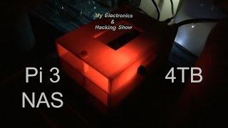 Raspberry Pi 3 NAS 4TB - DIY Step by Step (MEHS) Episode 46