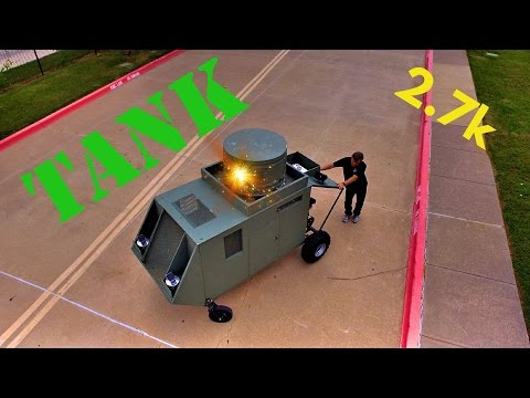 TANK Drone Video in 2.7k   DJI Phantom
