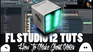 FL Studio 12 | How To Use / Make Ghost Notes { Tutorial 2015 }