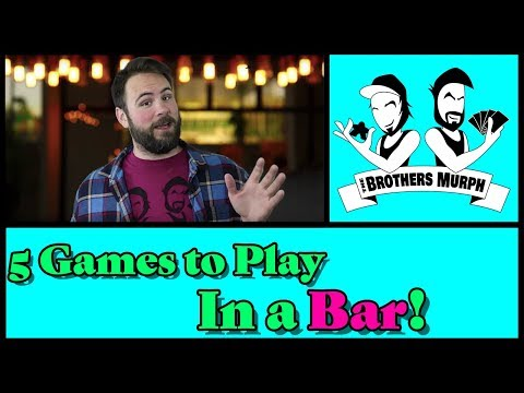 5 Games To Play In A Bar!