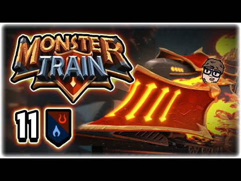 MY FAVORITE RUN EVER!! | Part 11 | Let's Play Monster Train | PC Gameplay