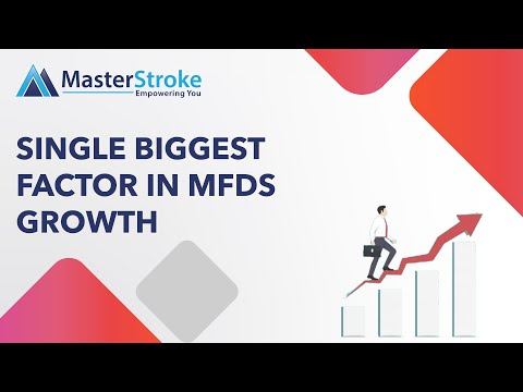 Single Biggest Factor in MFDs Growth