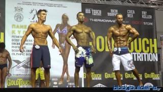 20ο Πανελλήνιο Κύπελλο IFBB - Physique Ανδρών (εώς 1.80cm)