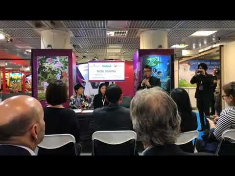 MIPCOM 2017 Shanghai WingsMedia with Shellhut and Tiny Island Pictures MOU Signing Ceremony