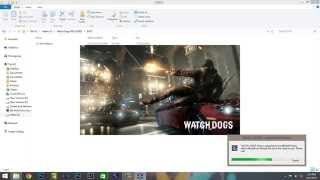 How to Install and Crack Watch Dogs on PC   Reloaded Tutorial With Proof