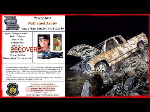 Solved Missing Persons Case... Bringing Closure for Nathan's Family