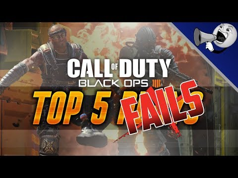 Call of Duty Black Ops 4 Multiplayer Top 5 Fails #5: Worst Enemy Aim!!! (BO4 Not Top 5) thumbnail