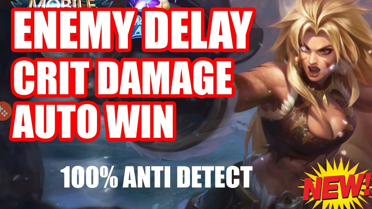 ENEMY DELAY + CRIT DAMAGE + AUTO WIN PATCH MASHA - SONY DIGITAL