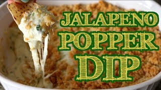 ★ Jalapeno Popper Dip For Super Bowl/game Day ★  Noshing With Paris