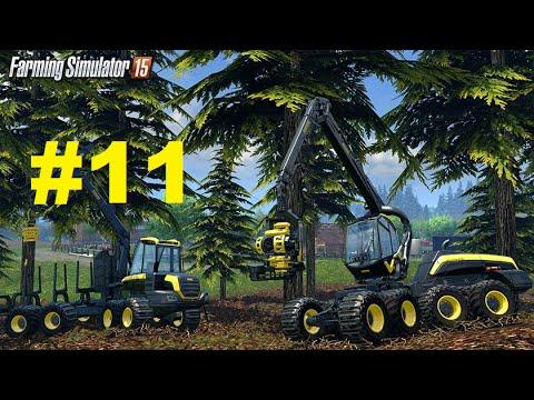 Farming Simulator 15. Часть #11. Мод Курсплей / Mod CoursePlay.